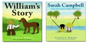 Arkansas Civil War children's books by Nancy Dane