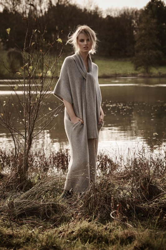 Cashmere dress: Joseph Boots: Hunter