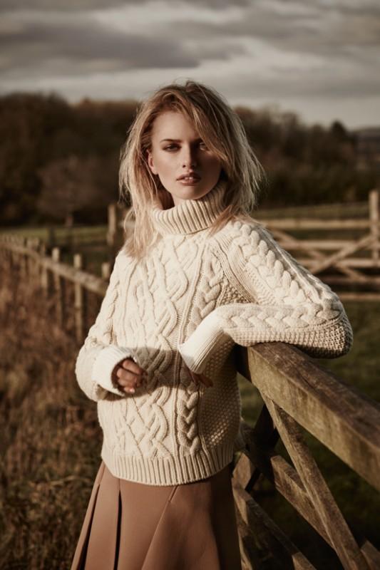 Knitted jumper: Topshop Unique Skirt: Alexander Wang