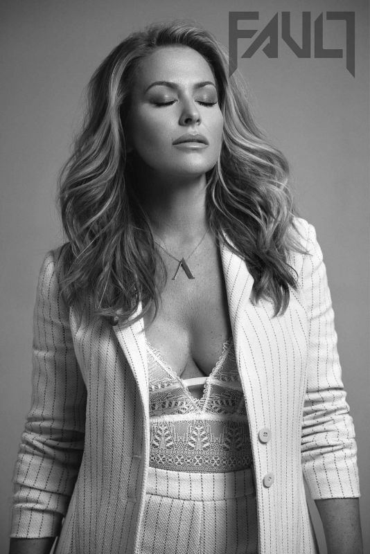 Anastacia Magazine cover photoshoot