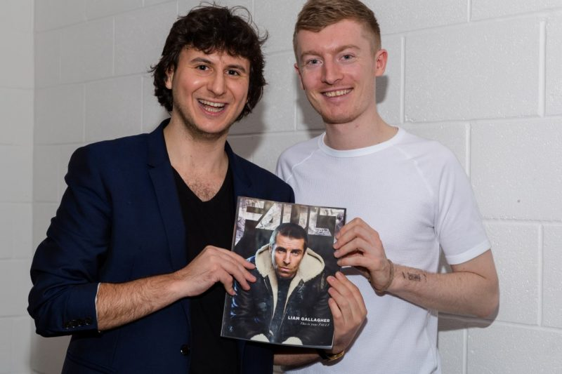 FAULT Magazine 10 year anniversary: FAULT Magazine director Nick Artsruni (left) with Issue 27 front cover photographer Jack Alexander (right)