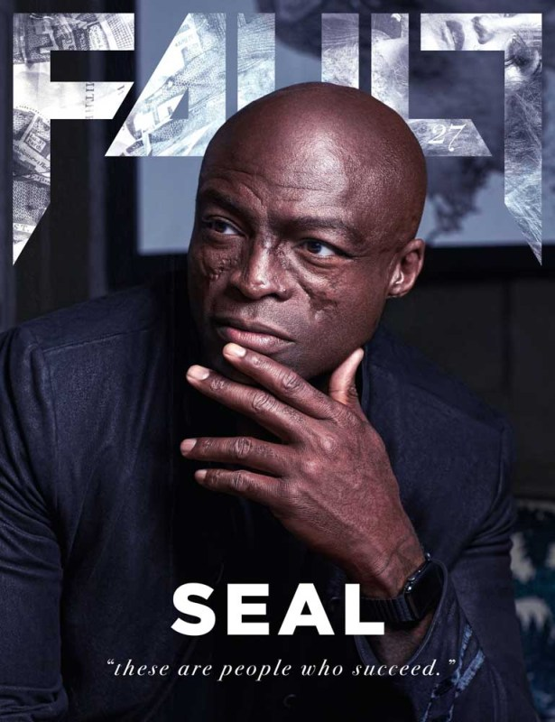 Seal FAULT Magazine cover