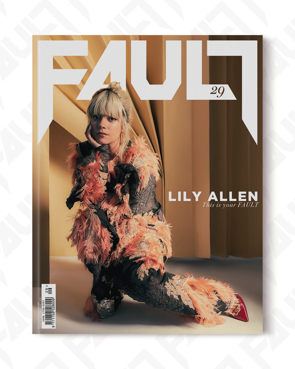 FAULT Magazine Issue 29 - Lily Allen cover