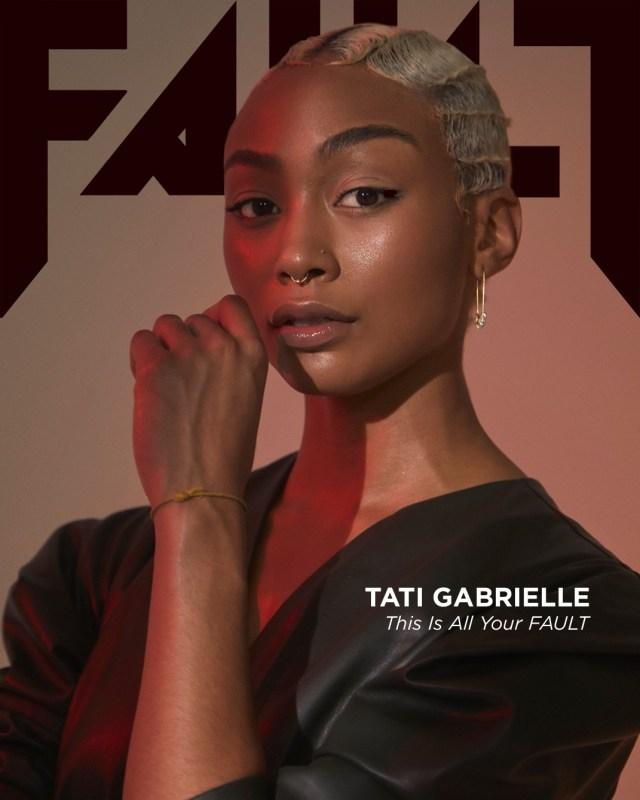 Tati Grabrielle from Sabrina for FAULT Magazine