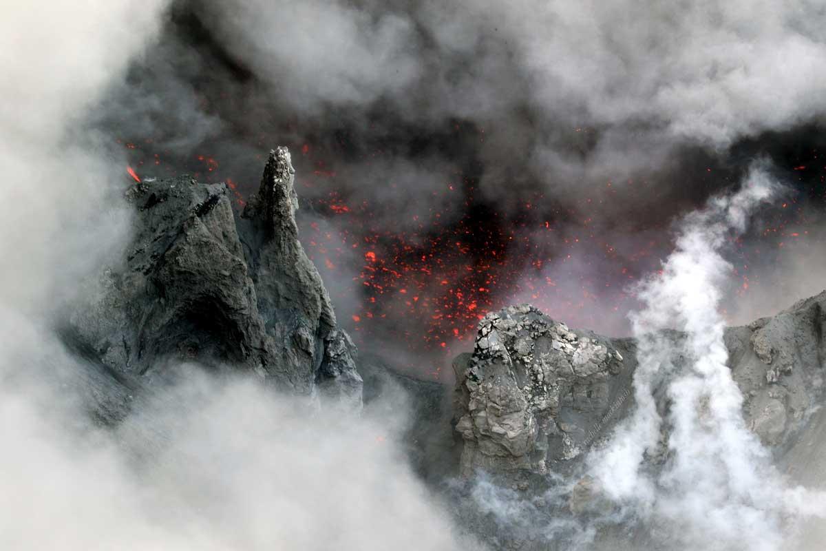 yasur volcano tanna island vanuatu landscape