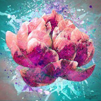 Flower Splash 1 | Original Digital Artwork