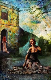 Outside the Castle | Original Digital Artwork