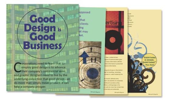 Metropolis Magazine Layout | graphic design westchester ny