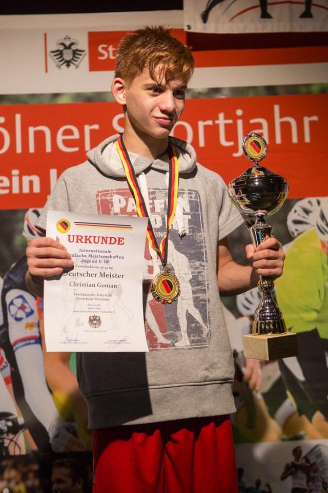 Finale U18 IDJM 2016 - Christian Goman vs. Umar Bajwa