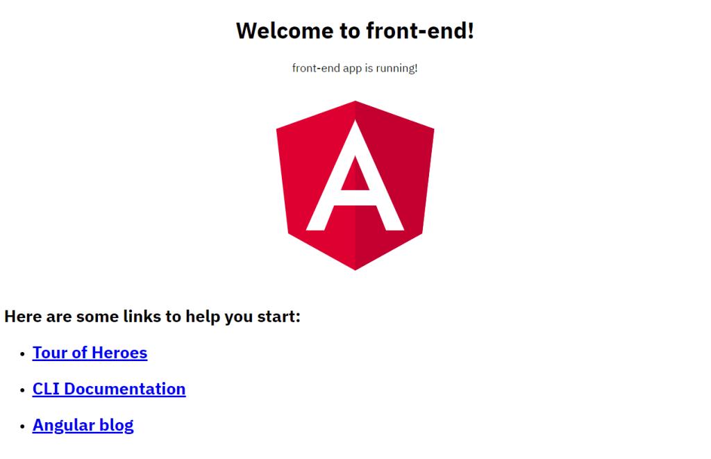 Configurando um ambiente de desenvolvimento Angular 10 no GitPod 2
