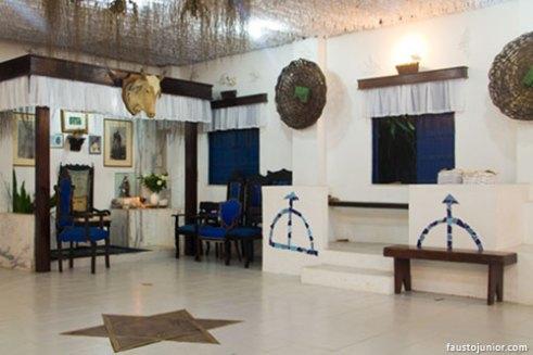 Salão do Terreiro Ilê Omorodé (foto: Fausto Junior)
