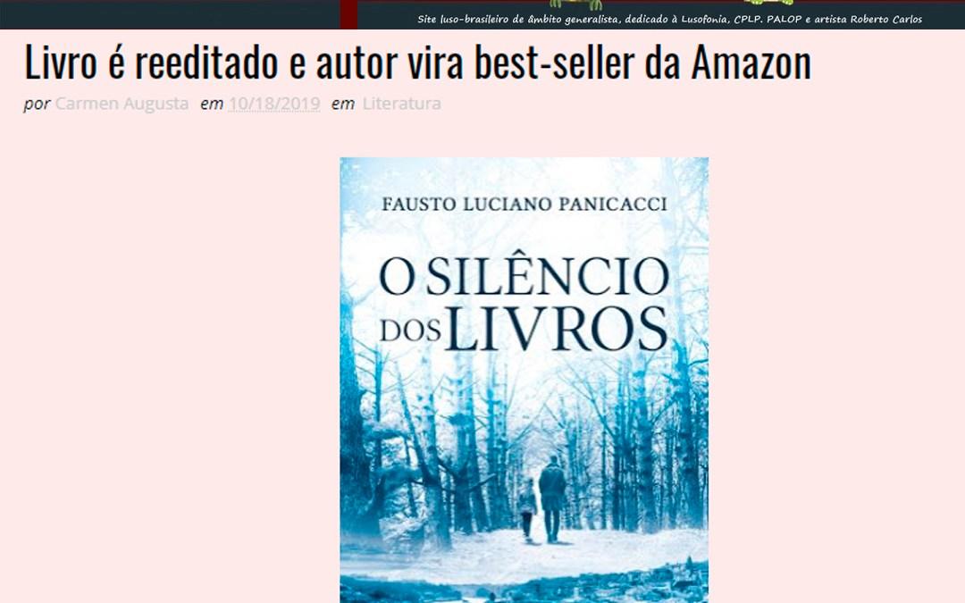 """Splish Splash – Publica sobre o livro """"O Silêncio dos Livros"""""""