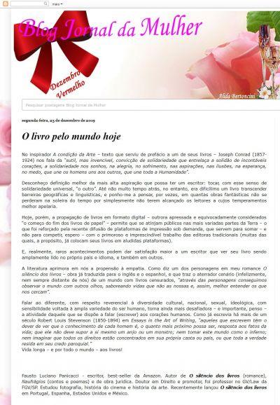 O blog Jornal da Mulher