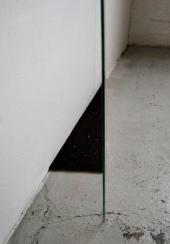 """Untitled"",2014,installation,wall board,glass sketchbook-Detail"