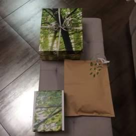 emballage cadeau papier peint