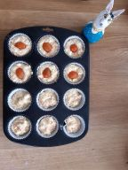 enfourner les muffins aux légumes