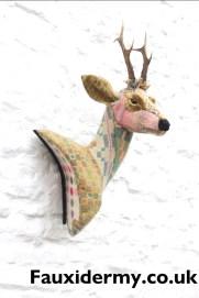 roe-deer-textile-taxidermy-fauxidermy-welsh-blanket