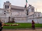 Roman City Hall complete with centurion.