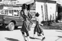 """My homage to George Rodger reflecting one of his photos in his """"Haiti 1950"""" collection."""