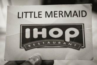 The Little Mermaid Card.