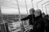 Father and son atop the Needle Observation Deck. Leica M-P / Summilux 50mm