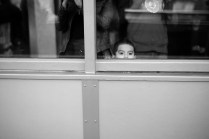 Kid trying to see over the Observation Deck Leica M-P / Summilux 50mm