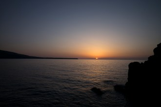 "Santorini Sunset - You be the judge whether or not it can be deemed ""famous""."