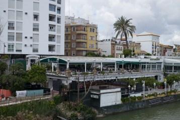 The Rio Grande restaurant where we had our first dinner. Sevilla