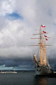 """Sailship"" / Port of San Juan / Leica M-P / Summilux 50mm"