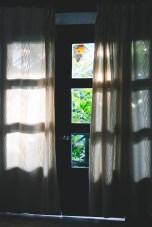 Door to our bungalow