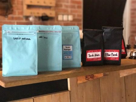 Pilihan biji kopi single origin yang tersedia saat itu