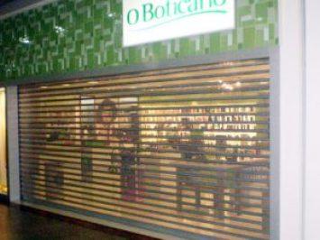Porta de Aço de Enrolar Automática - Favaretto Portas - Porta de Loja de Enrolar - Porta de Loja Automática - Portão de Enrolar