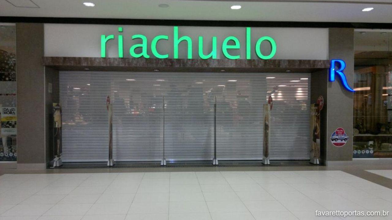 Porta de Enrolar Automática para Loja