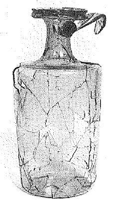 Favarge Bouteille Gallo-romaine