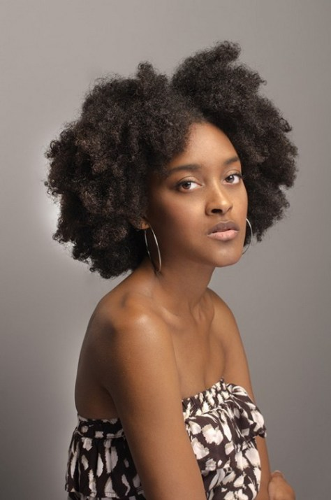 Curly Afro Hairstyles for Women