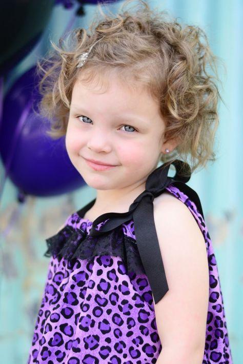 Curly Hair Baby Girl
