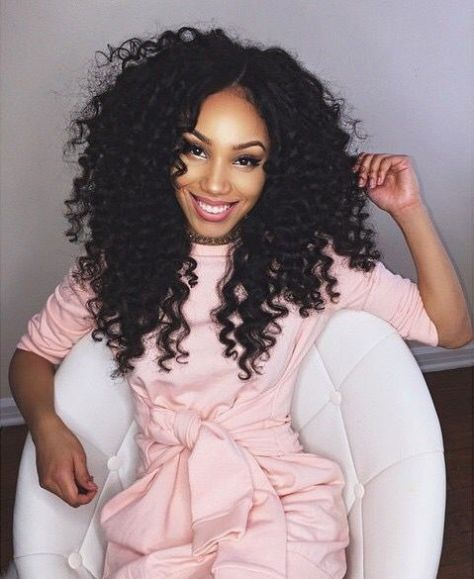 Curly Hair Styles for Black Women -.