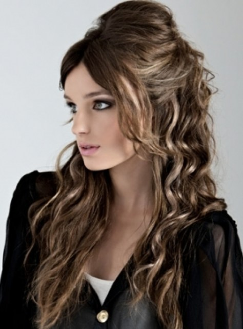 Curly Hairstyles Easy Curly Hairstyles For Long Straight Hair ...