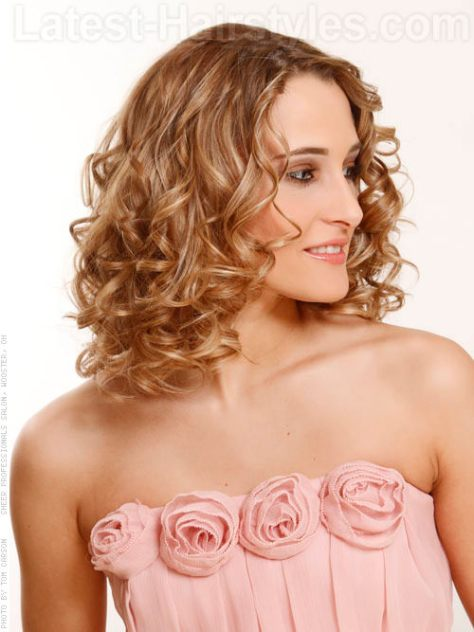 Curly Hairstyles For Homecoming Half Up Half Downprom Hairstyles ...