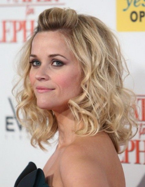 Curly Medium Length Hairstyles