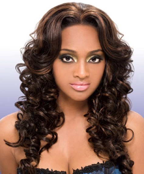 Curly Wavy Hairstyles for Black Women