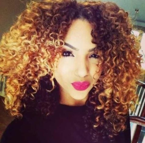 Curly hairstyles mixed race