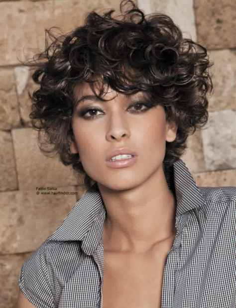 Cute Style Short Hairstyles For Curly Hair