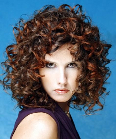 Dreamy Curly Hair Styles