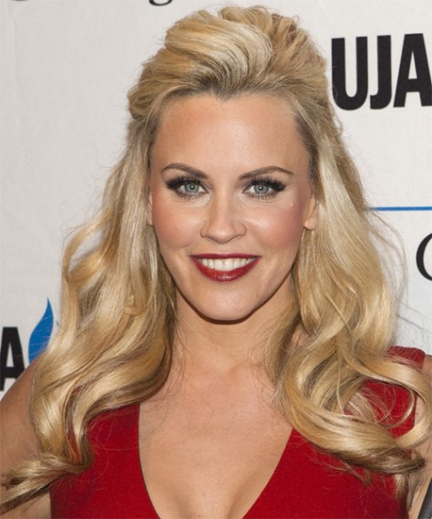 Jenny McCarthy Half Up Curly..