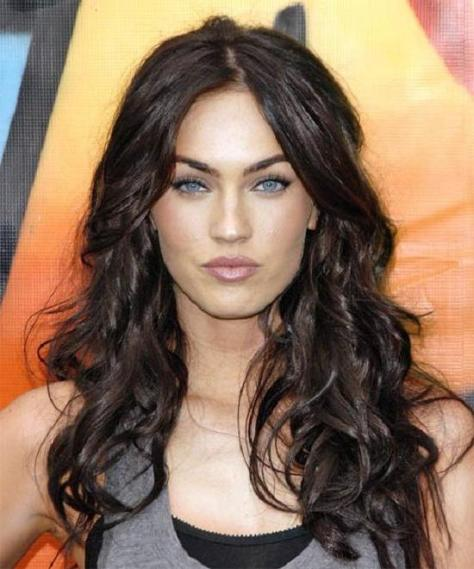 Megan Fox Curly Hairstyle