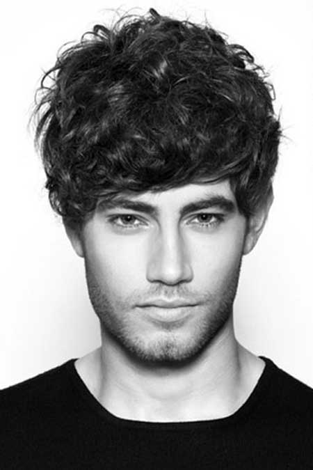 Men Haircuts for Curly Hair