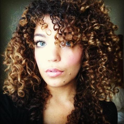 Mixed Girl Curly Hair Hairstyles pics