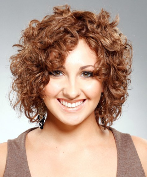 Popular Natural Short Curly