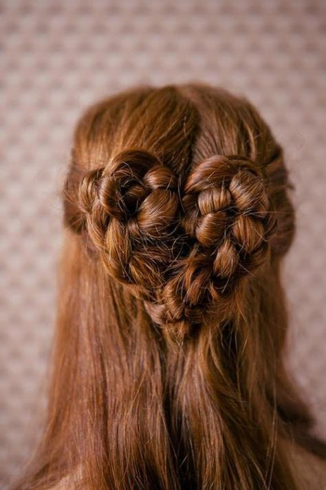 Prom Hairstyles Updos with Braids